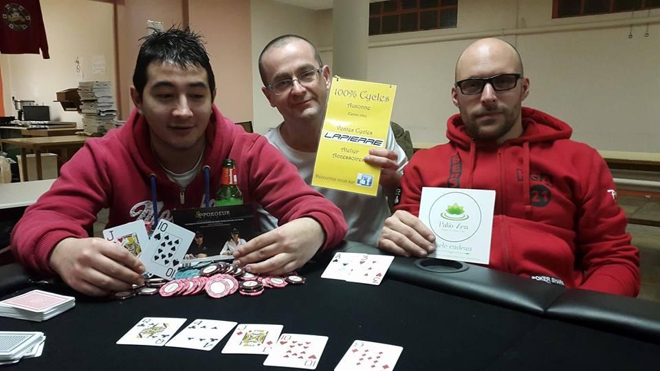Tournoi Partenaire du Poker Club Auxonne