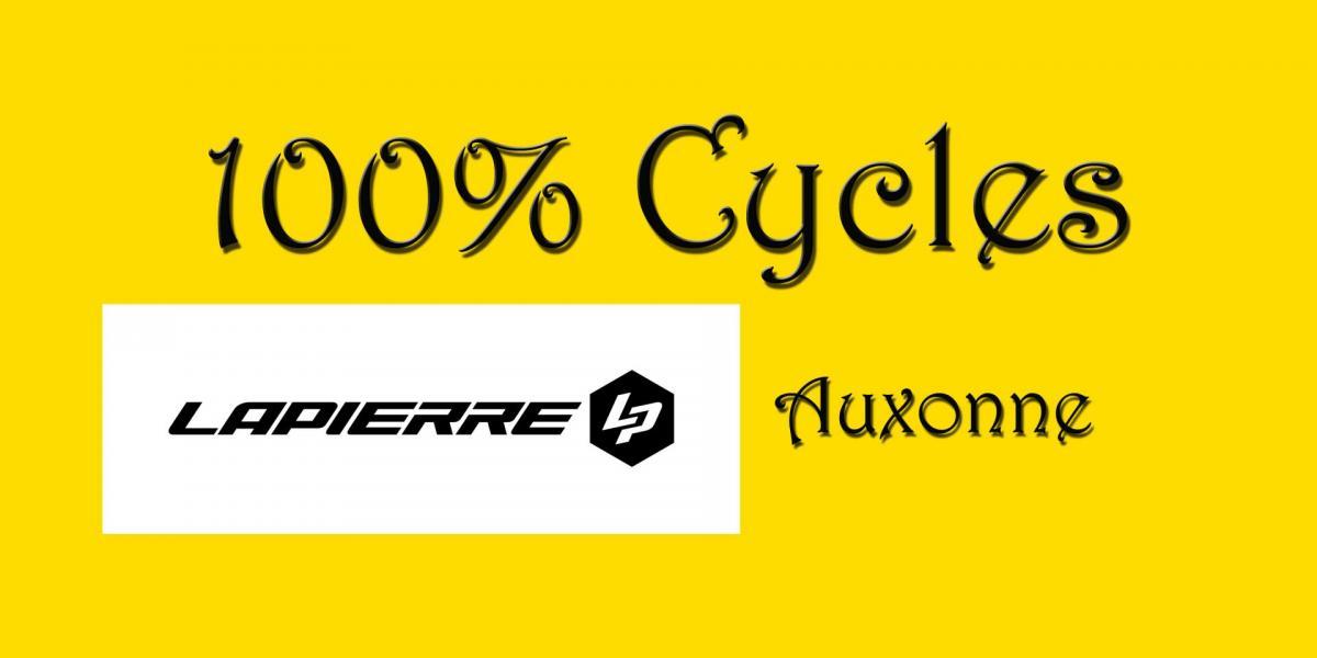 Logo 100 cycles auxonne 1